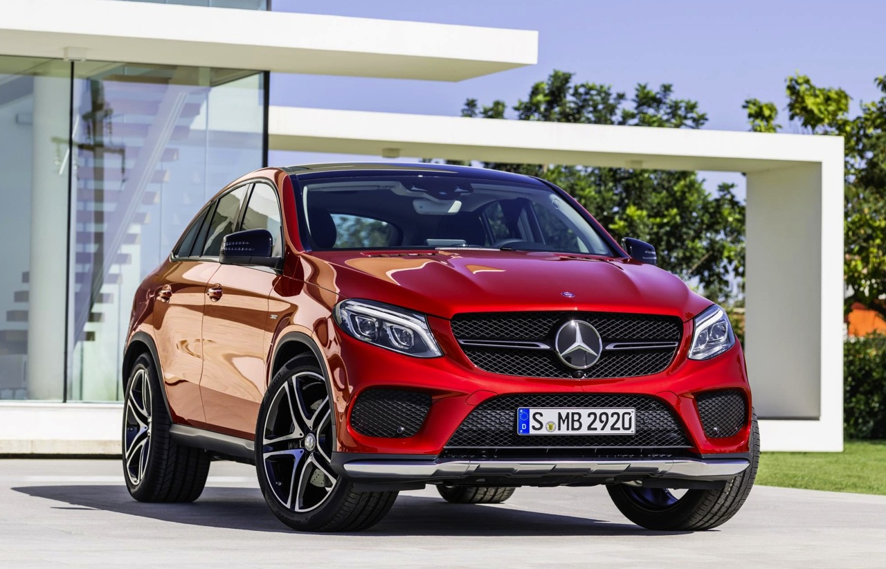 Mercedes benz gle coupe revealed debuts amg sport 39 450 for Mercedes benz usa price list