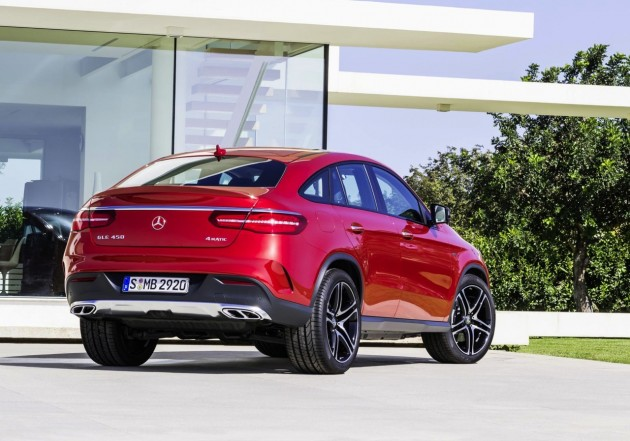 Mercedes-Benz GLE 450 AMG Coupe-rear