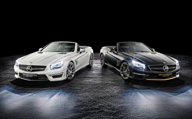 Mercedes-Benz SL 63 AMG World Championship Collector's Edition