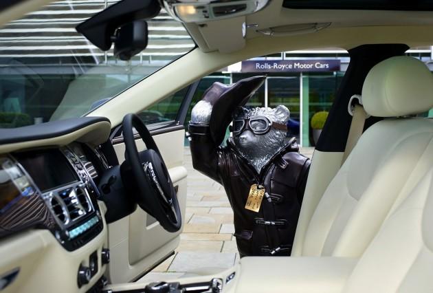 Rolls-Royce Paddington Bear-interior