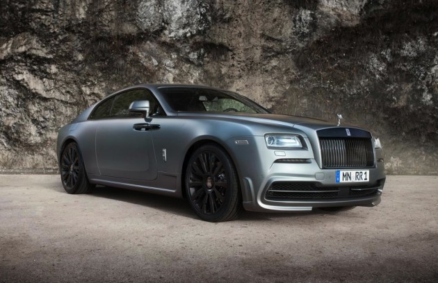 Rolls-Royce Wraith Spofec exterior
