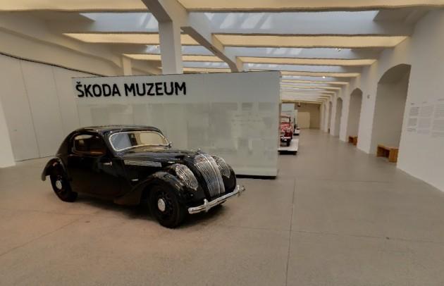 Skoda museum Google Maps