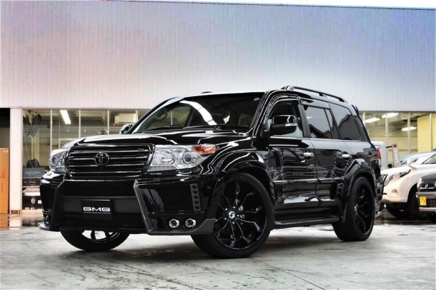 Toyota LandCruiser GMG88 Forgiato widebody exterior