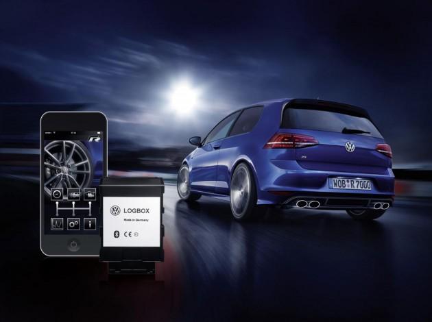 Volkswagen Golf R Race App LogBox