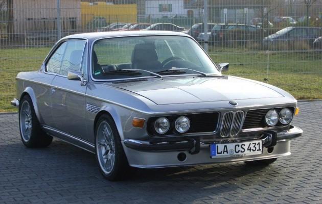 1970s BMW E9 CS M5 V8