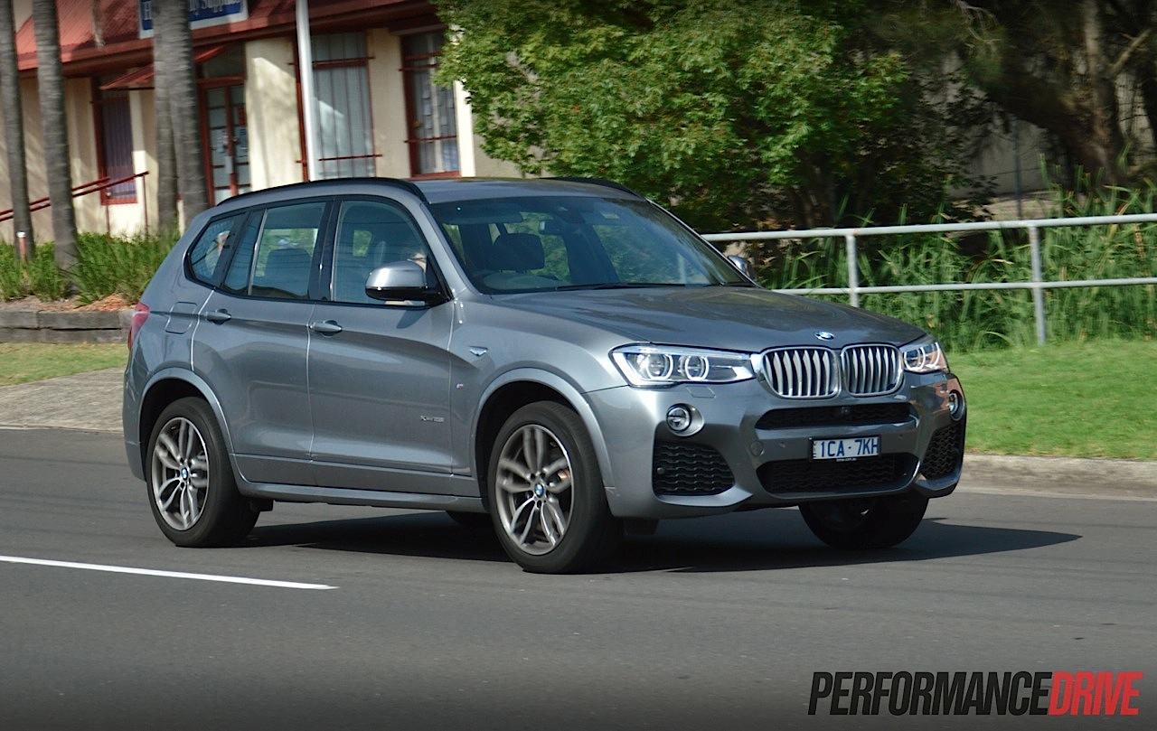2015 bmw x3 xdrive28i m sport review video performancedrive. Black Bedroom Furniture Sets. Home Design Ideas