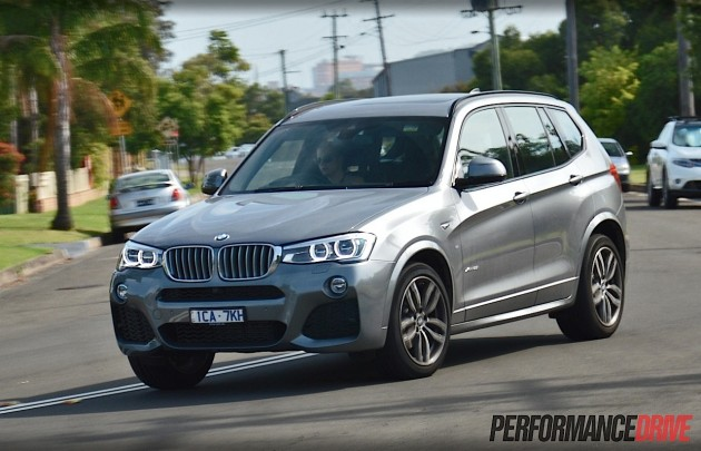 2014 BMW X3 xDrive28i-handling