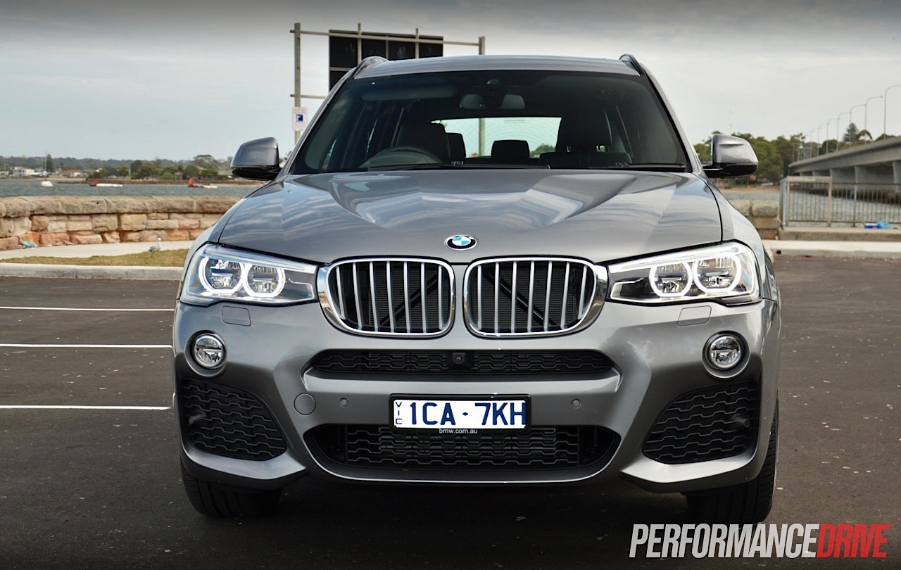2014 BMW X3 XDrive28i Headlights