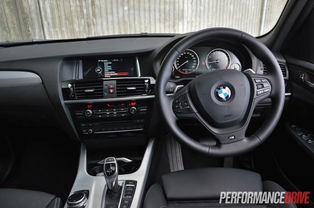 2014 BMW X3 xDrive28i-interior