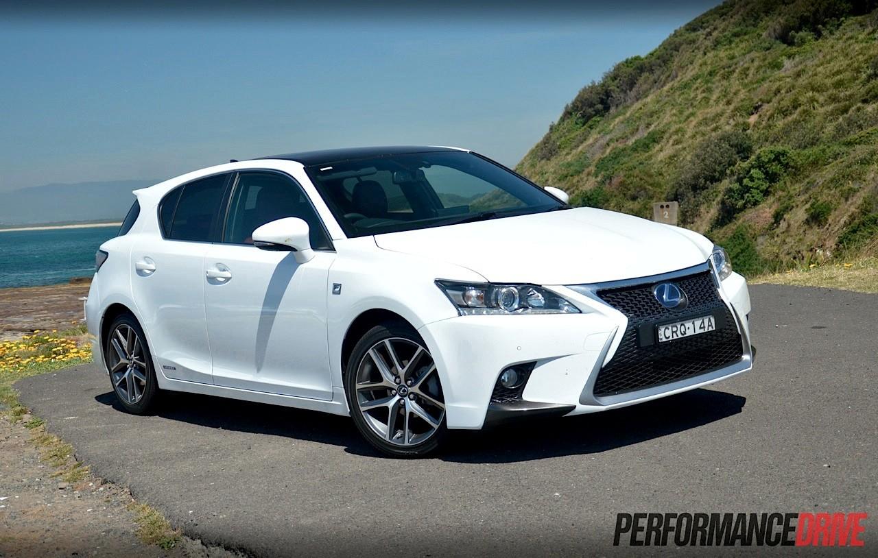 Lexus Ct 200h F Sport >> Lexus CT 200h F Sport review (video) | PerformanceDrive