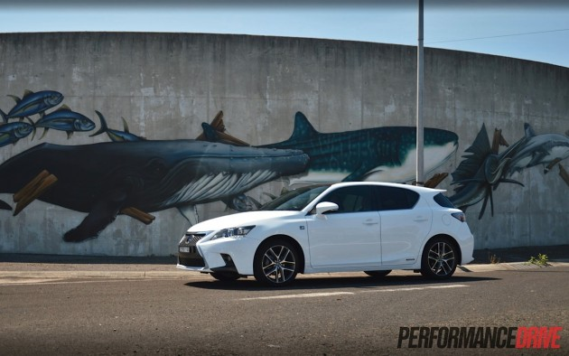 2014 Lexus CT 200h F Sport-eco