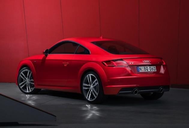 2015 Audi TT rear exterior