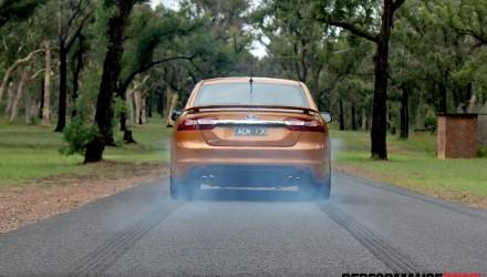 2015 Ford Falcon XR8-burnout