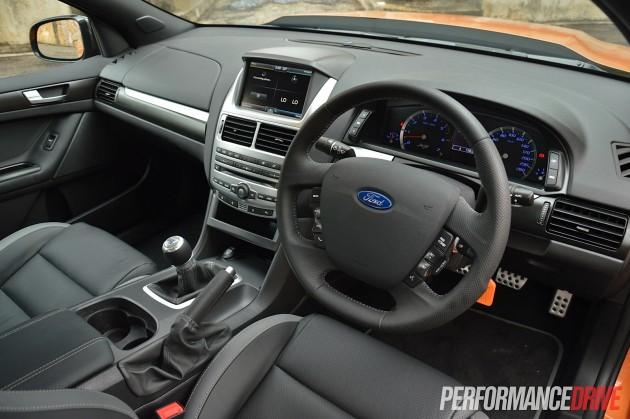 2015 Ford Falcon XR8-interior
