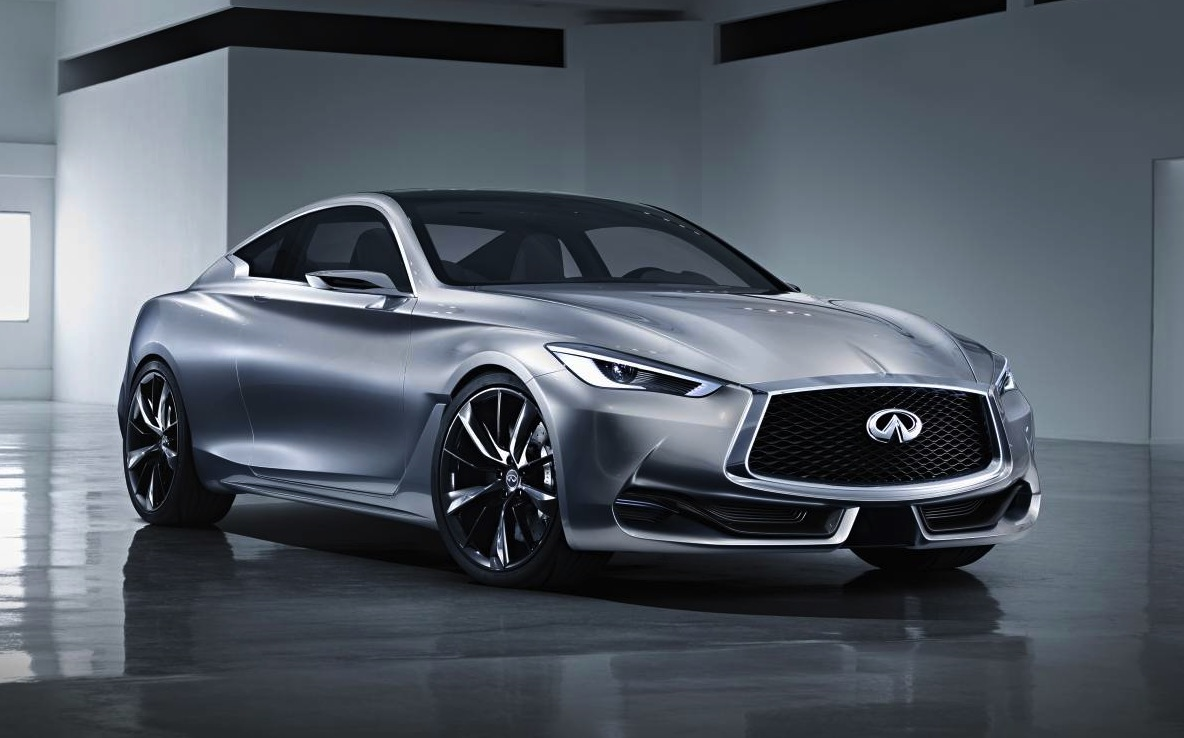 infiniti q60 concept previews new sports coupe performancedrive. Black Bedroom Furniture Sets. Home Design Ideas