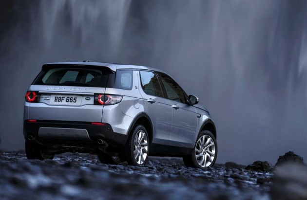 2015 Land Rover Discovery Sport-rear