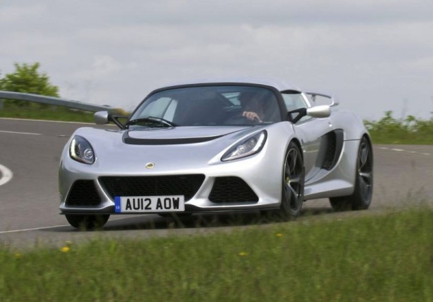 2015 Lotus Exige S Automatic driving