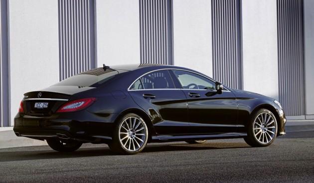 2015 Mercedes-Benz CLS 500-rear