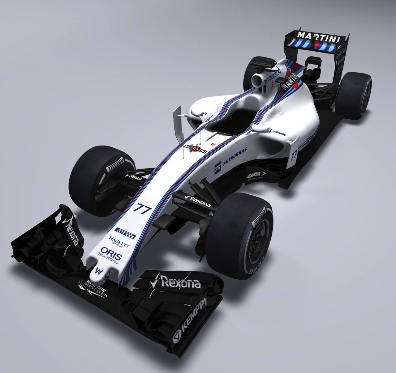 2015 williams formula one car revealed first 2015 f1 car debut performancedrive. Black Bedroom Furniture Sets. Home Design Ideas