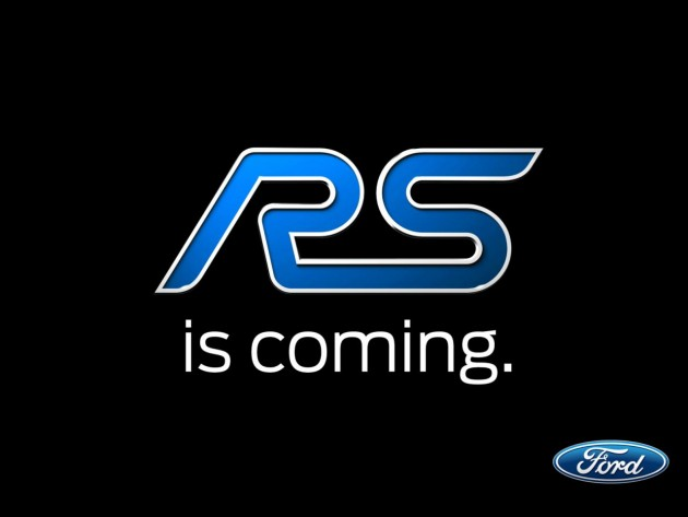 2016 Ford Focus RS teaser