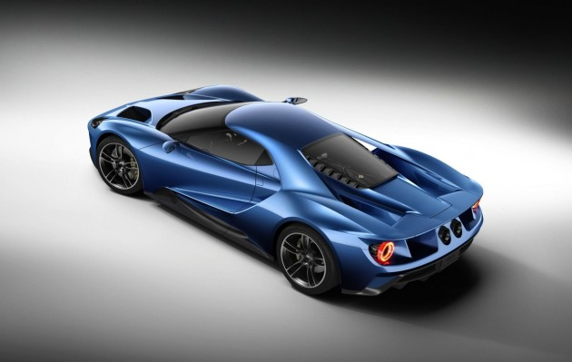 2016 Ford GT-blue
