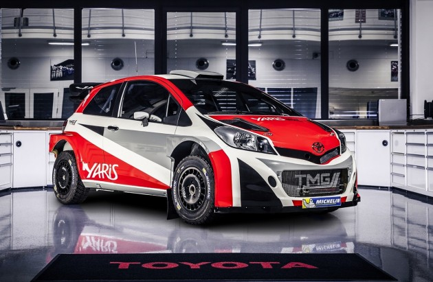 2017 Toyota Yaris WRC car