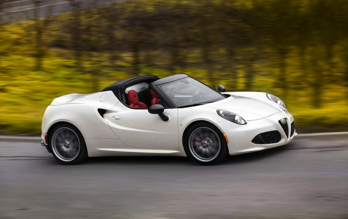 alfa romeo 4c spider unveiled at detroit show performancedrive. Black Bedroom Furniture Sets. Home Design Ideas