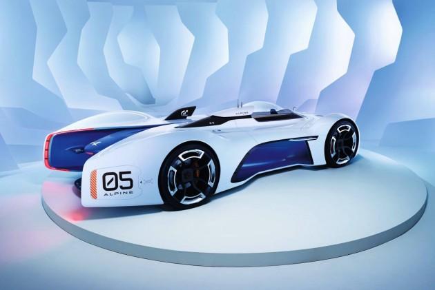Alpine Vision Gran Turismo-rear