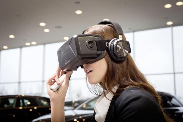 Audi Virtual Reality-headset