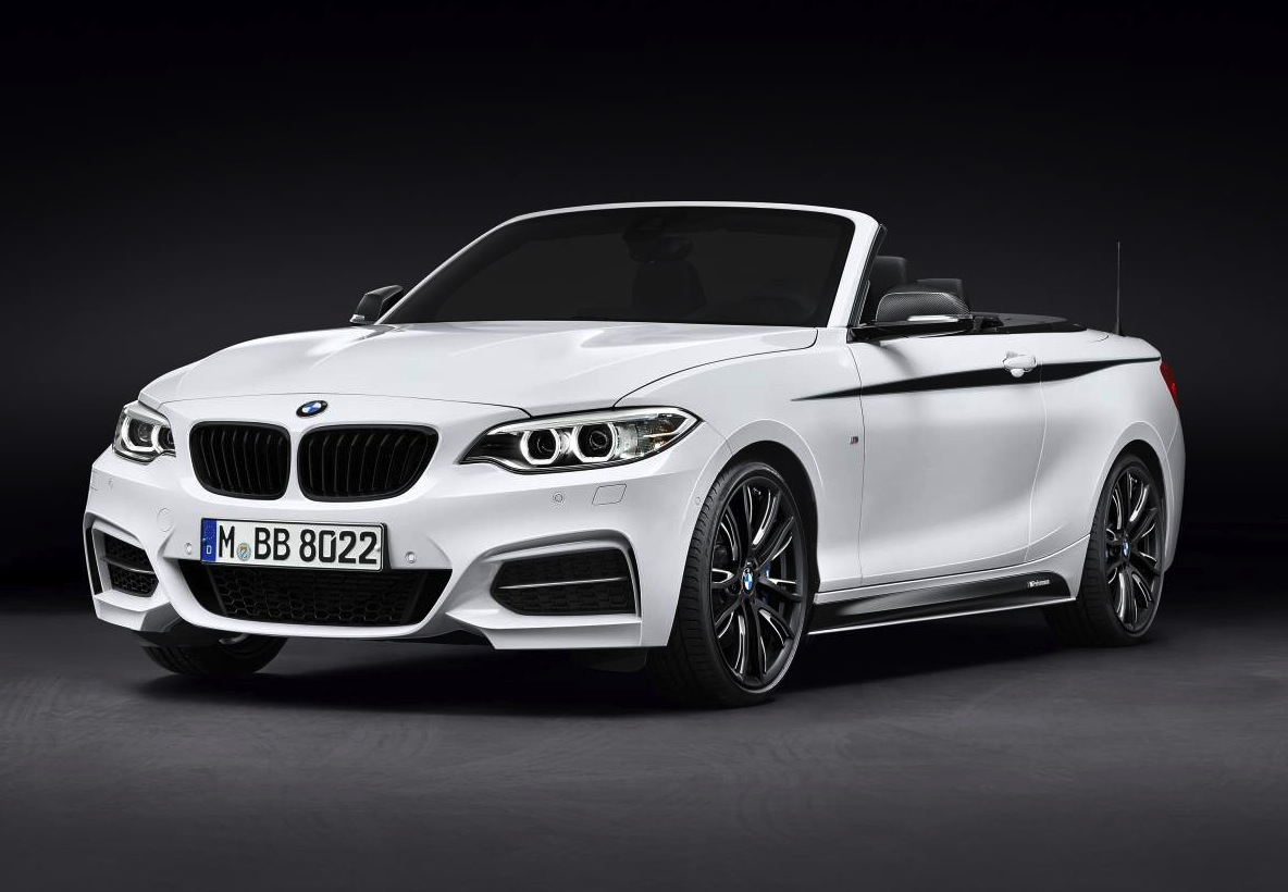 bmw 2 series convertible m performance accessories revealed performancedrive. Black Bedroom Furniture Sets. Home Design Ideas