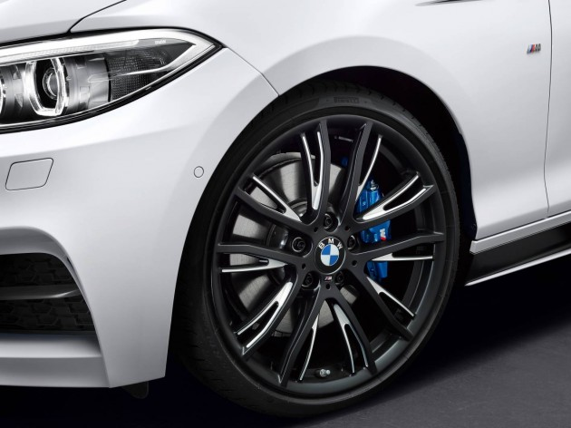 BMW M Performance 2 Series Convertible wheels