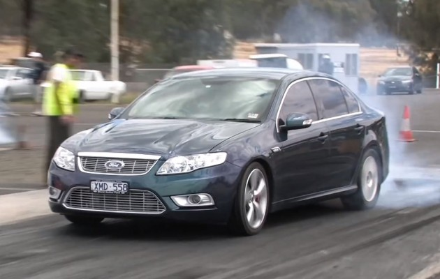 Ford FG Falcon G6E Turbo with 551kW ATW