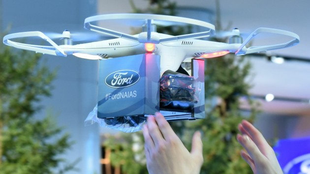 Ford Raptor drone