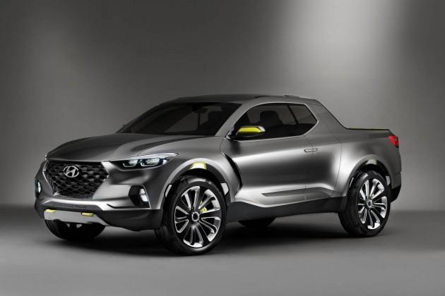 Hyundai Santa Cruz Pickup Concept exterior