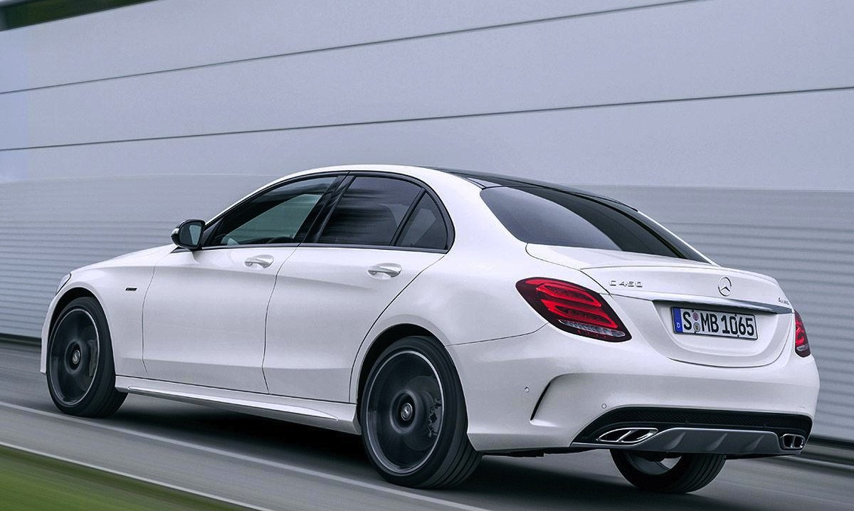 Mercedes benz c 450 amg sport revealed at detroit show for Mercedes benz 450