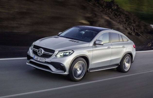 Mercedes-Benz GLE 63 AMG S Coupe