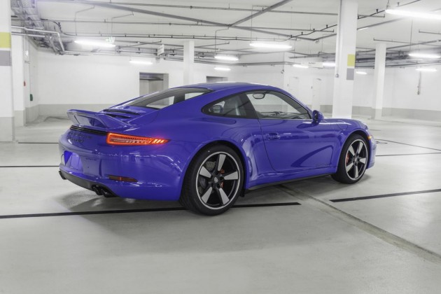 Porsche 911 GTS Club Coupe-rear