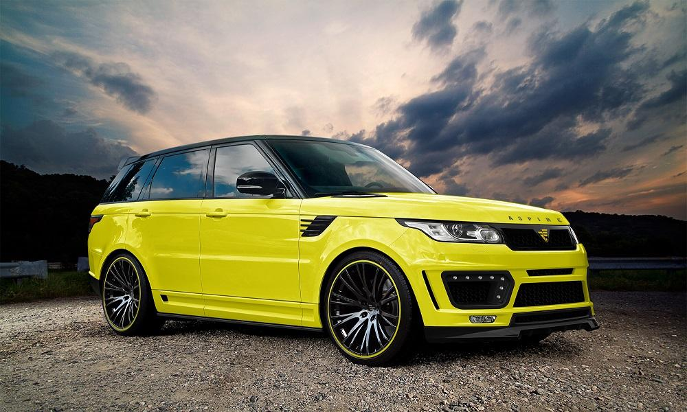 Range rover sport styling package by aspire design for Range rover exterior design package