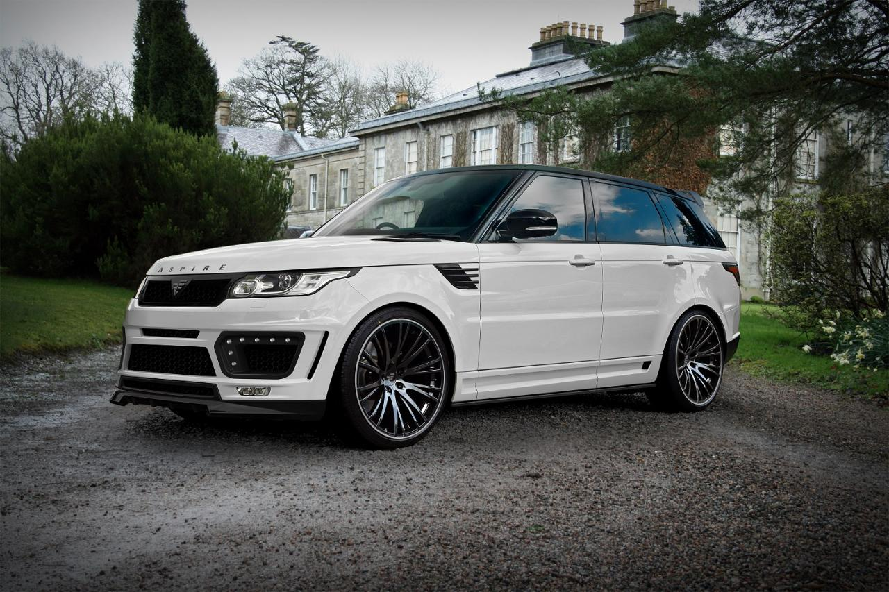 range rover sport styling package by aspire design performancedrive. Black Bedroom Furniture Sets. Home Design Ideas