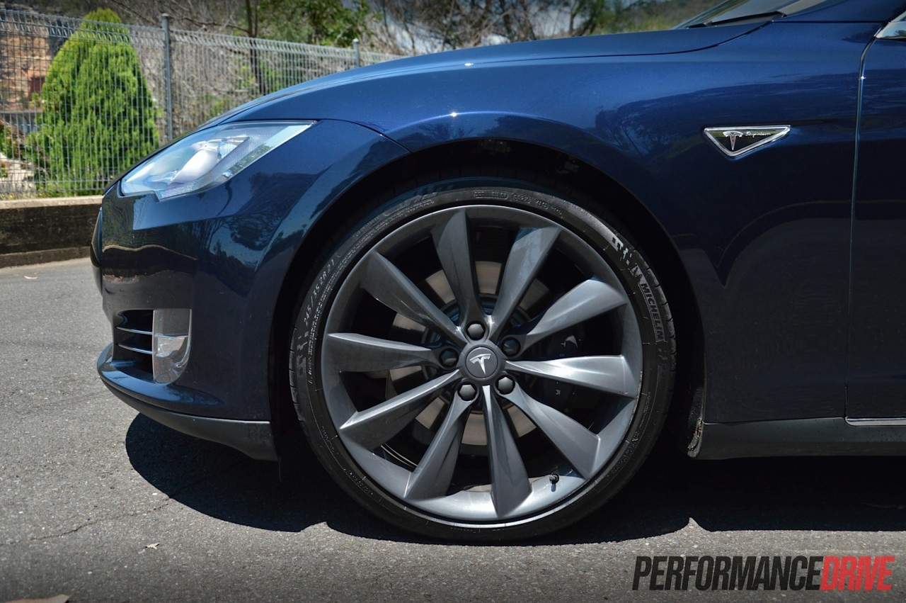 Tesla Model S P85 Review Video Performancedrive
