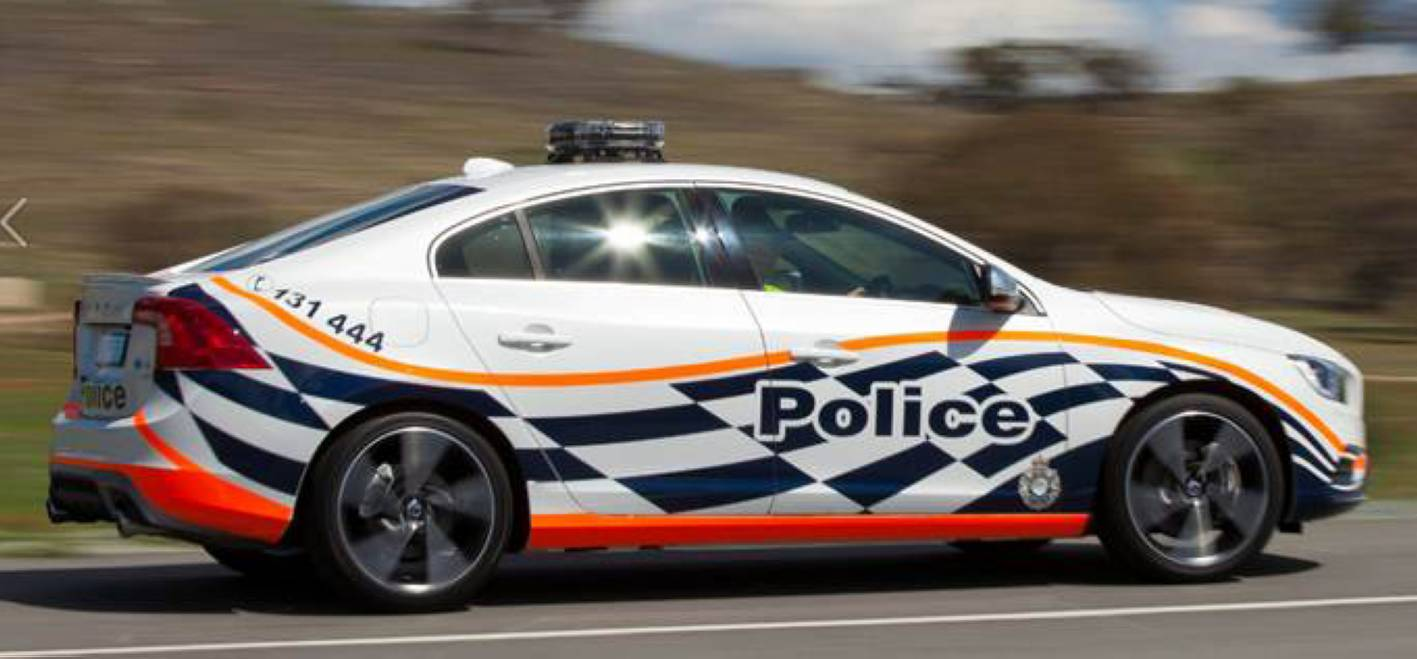 Act Police Trial Volvo S60 T6 For Potential Patrol Duties