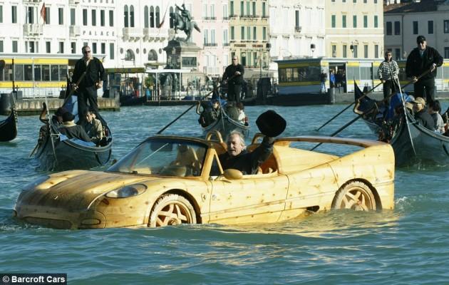 Wooden Ferrari F50 Venice