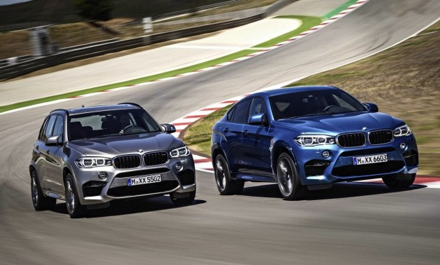 2015 BMW X5 M and X6 M-