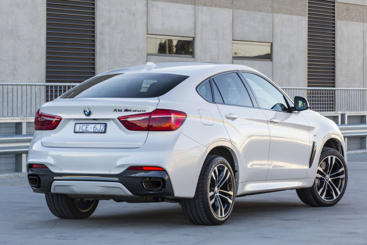 2015 bmw x6 on sale from 115 400 xdrive50i now 330kw performancedrive. Black Bedroom Furniture Sets. Home Design Ideas