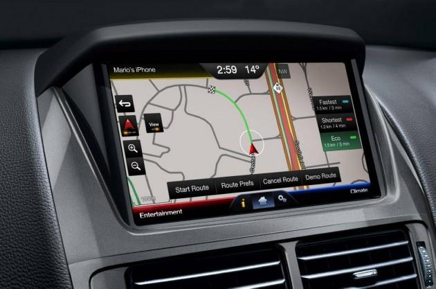 2015 Ford Falcon FG X sat-nav