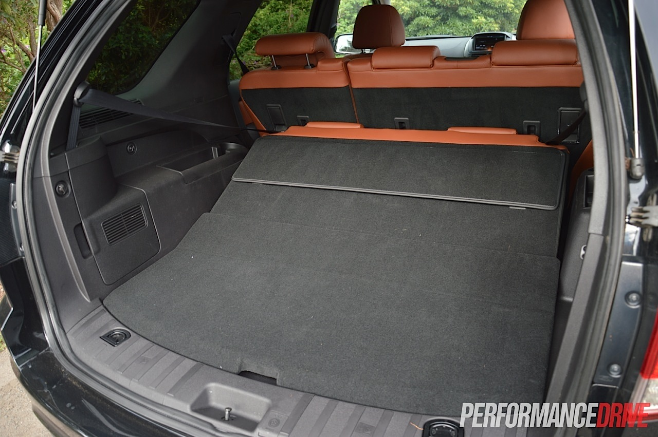 Ford Territory Mkii Titanium Cargo Space