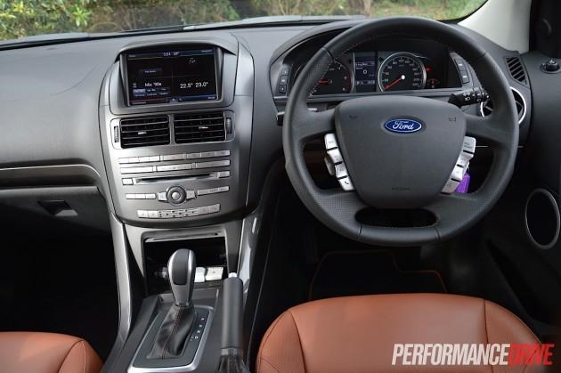 2015 Ford Territory MkII Titanium-dash