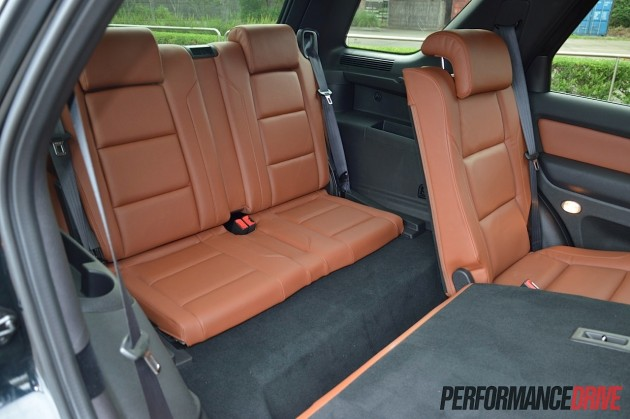 2015 Ford Territory MkII Titanium-third row seat