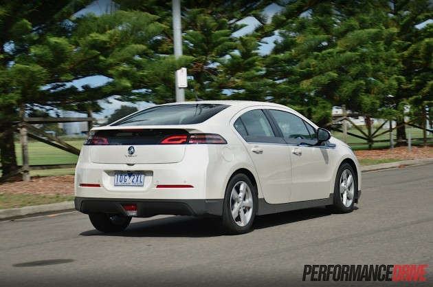 2015 Holden Volt-back