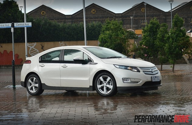 2015 Holden Volt-white